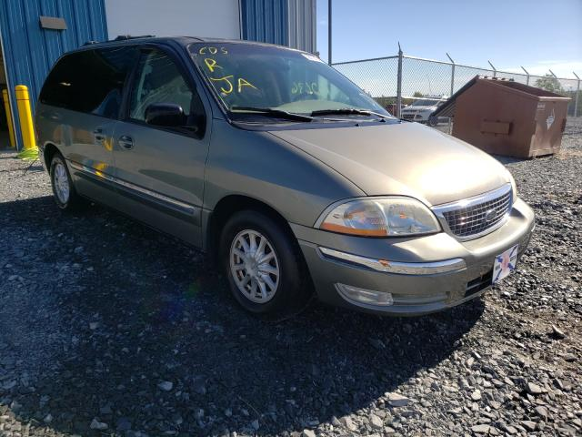 Salvage cars for sale from Copart Cow Bay, NS: 2001 Ford Windstar S