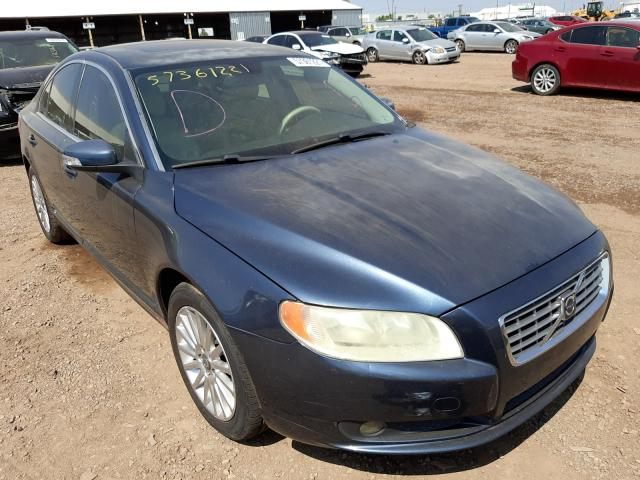 Salvage cars for sale from Copart Phoenix, AZ: 2008 Volvo S80 3.2
