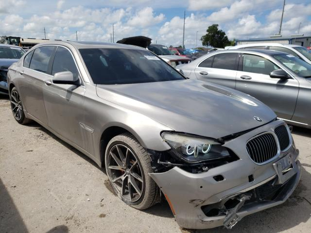Salvage cars for sale from Copart Riverview, FL: 2011 BMW 750 LI