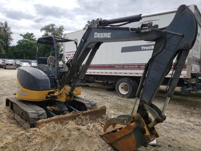 Salvage cars for sale from Copart Ocala, FL: 2011 John Deere Excavator