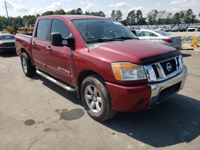 Vehiculos salvage en venta de Copart Dunn, NC: 2009 Nissan Titan XE