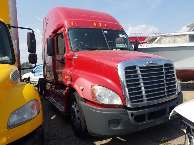 Vehiculos salvage en venta de Copart Woodhaven, MI: 2009 Freightliner Cascadia 1