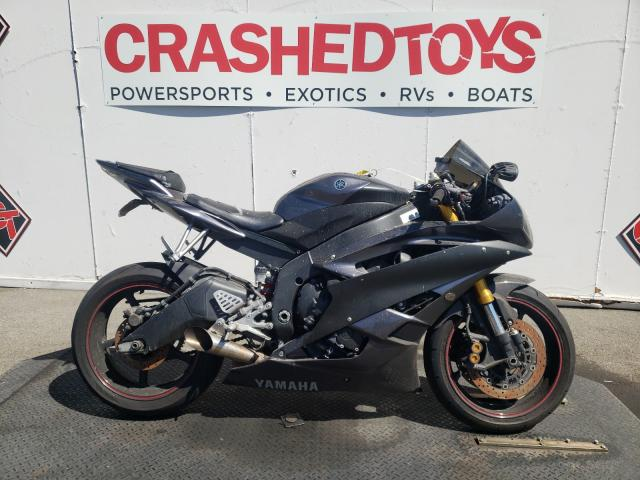 Salvage cars for sale from Copart Van Nuys, CA: 2007 Yamaha YZFR6 L