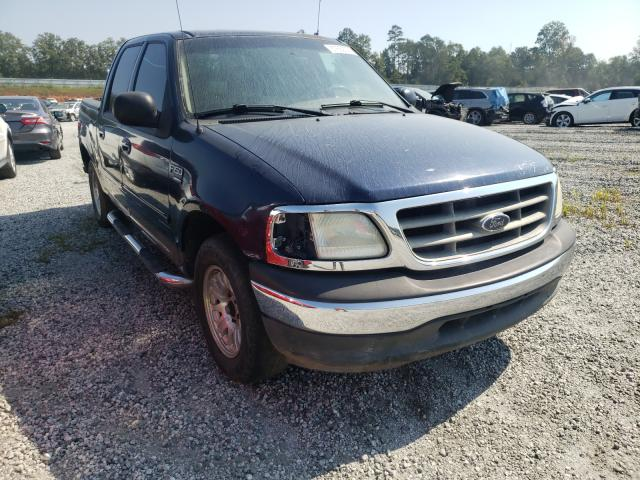 Salvage cars for sale from Copart Spartanburg, SC: 2002 Ford F150 Super