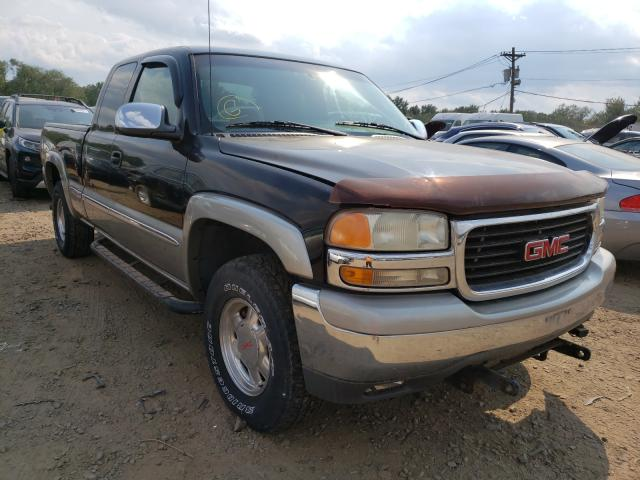 Salvage cars for sale from Copart Windsor, NJ: 2001 GMC New Sierra