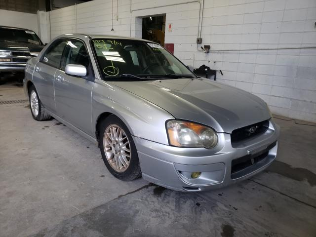 Salvage cars for sale from Copart Blaine, MN: 2004 Subaru Impreza RS