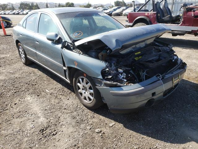 Salvage cars for sale from Copart San Martin, CA: 2002 Volvo S60