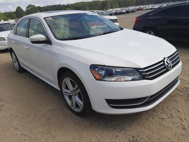 Salvage cars for sale at Conway, AR auction: 2014 Volkswagen Passat SE