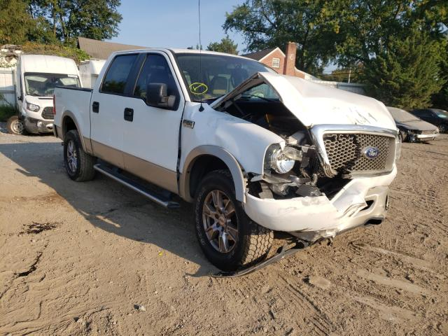 Salvage trucks for sale at Finksburg, MD auction: 2007 Ford F150 Super