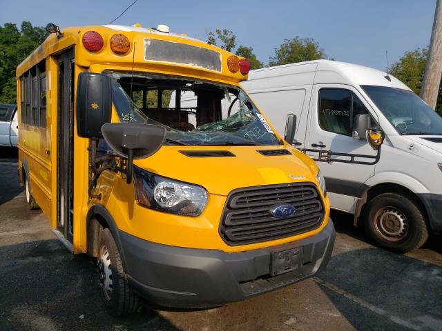Vehiculos salvage en venta de Copart Marlboro, NY: 2017 Ford Transit T