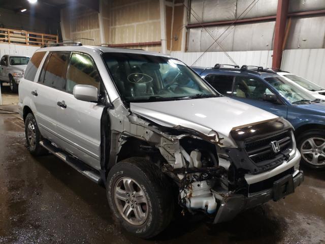 Salvage cars for sale at Anchorage, AK auction: 2005 Honda Pilot EXL