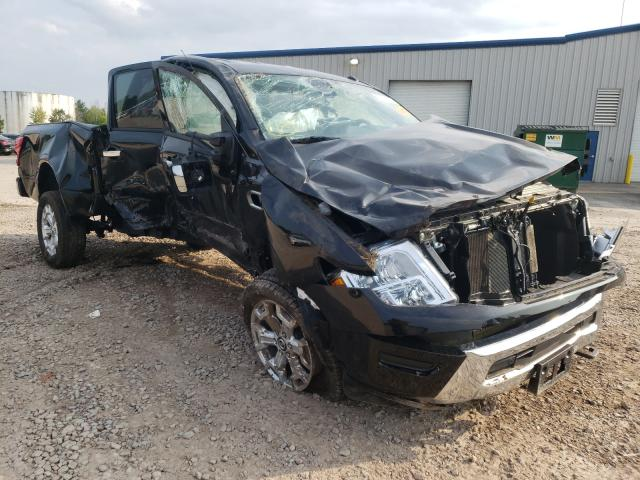 Salvage cars for sale from Copart Central Square, NY: 2021 Nissan Titan XD S
