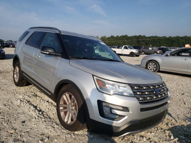 Salvage cars for sale from Copart Loganville, GA: 2017 Ford Explorer X