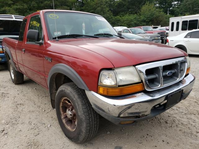 Salvage cars for sale from Copart Mendon, MA: 2000 Ford Ranger SUP