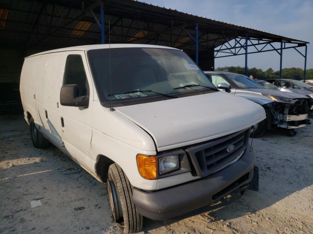 Vehiculos salvage en venta de Copart Cartersville, GA: 2006 Ford Econoline
