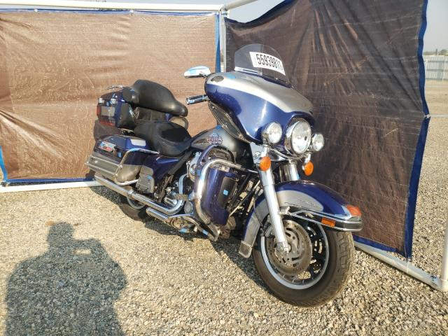 Salvage cars for sale from Copart Anderson, CA: 2007 Harley-Davidson Flhtcui