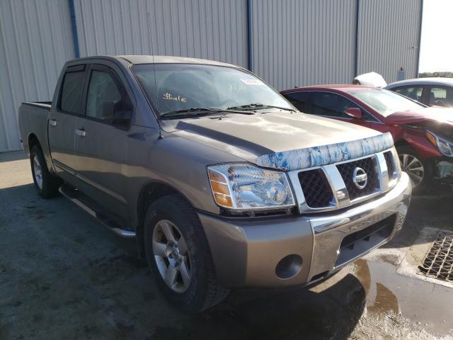 Nissan Titan salvage cars for sale: 2006 Nissan Titan