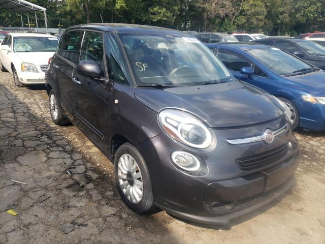 Salvage cars for sale from Copart Austell, GA: 2014 Fiat 500L Easy
