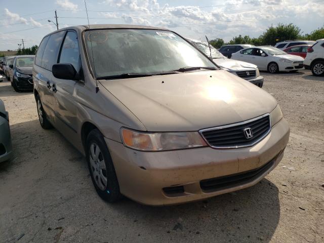 Honda Odyssey salvage cars for sale: 2000 Honda Odyssey