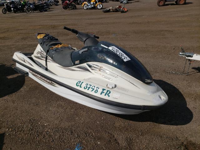 Salvage boats for sale at Brighton, CO auction: 2000 Yamaha Jetski