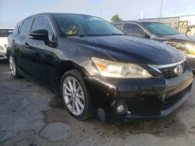 Salvage cars for sale from Copart Riverview, FL: 2012 Lexus CT 200