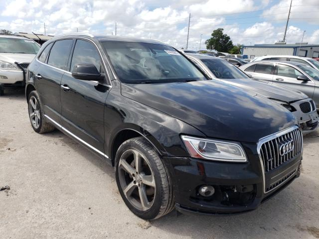 Salvage cars for sale from Copart Riverview, FL: 2015 Audi Q5 TDI Premium