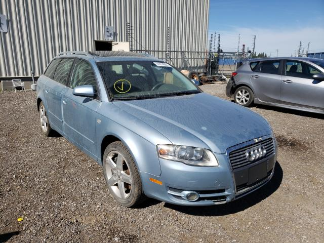 Salvage cars for sale from Copart Rocky View County, AB: 2006 Audi A4 2.0T AV