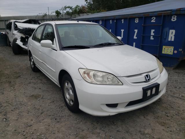 Vehiculos salvage en venta de Copart Arlington, WA: 2005 Honda Civic Hybrid