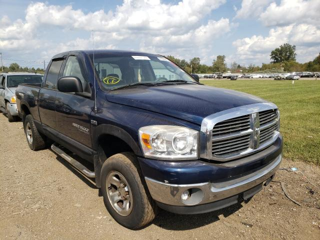 Salvage cars for sale from Copart Columbia Station, OH: 2007 Dodge RAM 1500 S