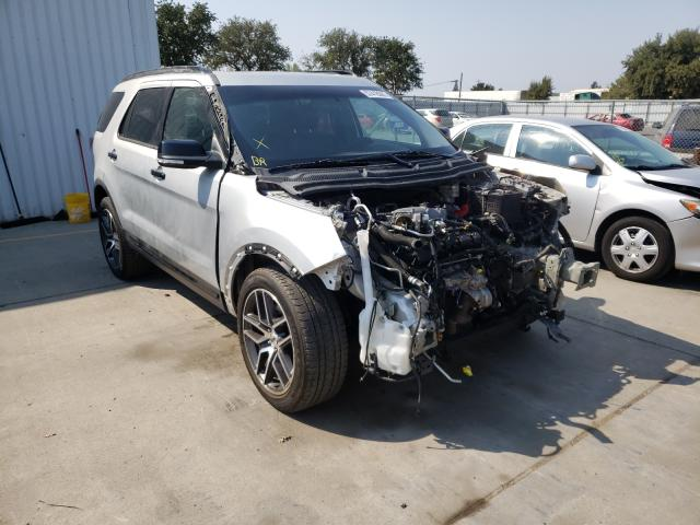 Salvage cars for sale from Copart Sacramento, CA: 2016 Ford Explorer S