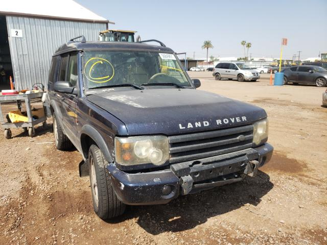 Salvage cars for sale from Copart Phoenix, AZ: 2003 Land Rover Discovery