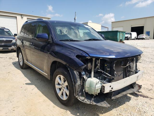 Salvage cars for sale from Copart Gainesville, GA: 2011 Toyota Highlander