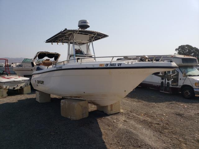 Century Boat salvage cars for sale: 2002 Century Boat