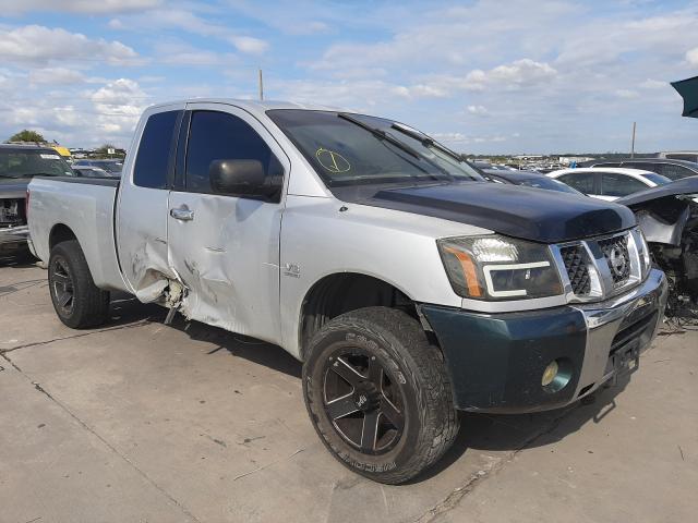 Vehiculos salvage en venta de Copart Grand Prairie, TX: 2004 Nissan Titan XE