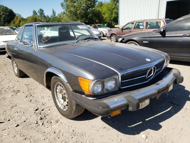 Salvage cars for sale from Copart Portland, OR: 1975 Mercedes-Benz 450 SL