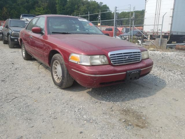 Ford Crown Victoria salvage cars for sale: 2002 Ford Crown Victoria