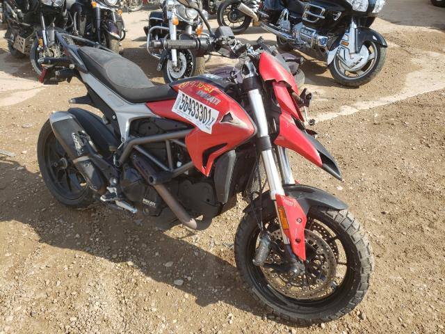 Salvage cars for sale from Copart Billings, MT: 2013 Ducati Hypermotar