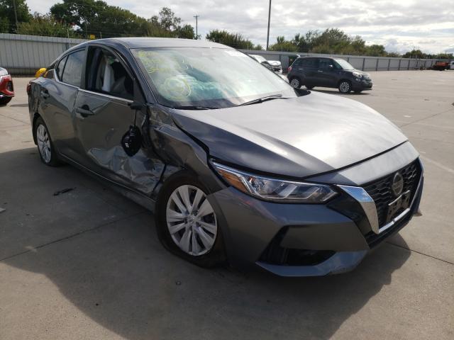 Vehiculos salvage en venta de Copart Wilmer, TX: 2021 Nissan Sentra S