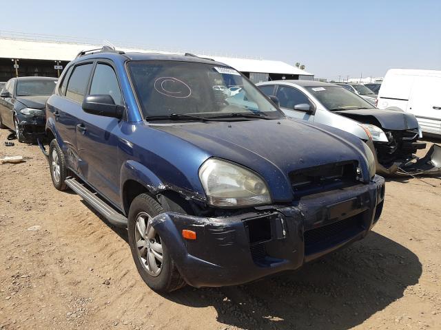 Salvage cars for sale from Copart Phoenix, AZ: 2009 Hyundai Tucson GLS