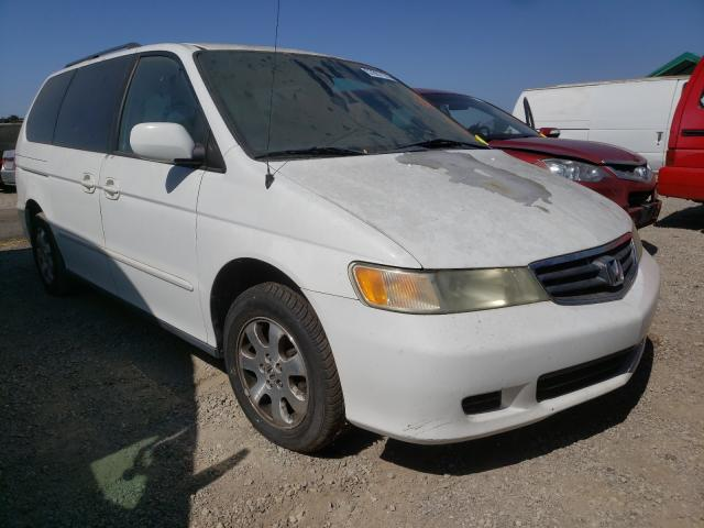 Salvage cars for sale from Copart San Martin, CA: 2004 Honda Odyssey EX