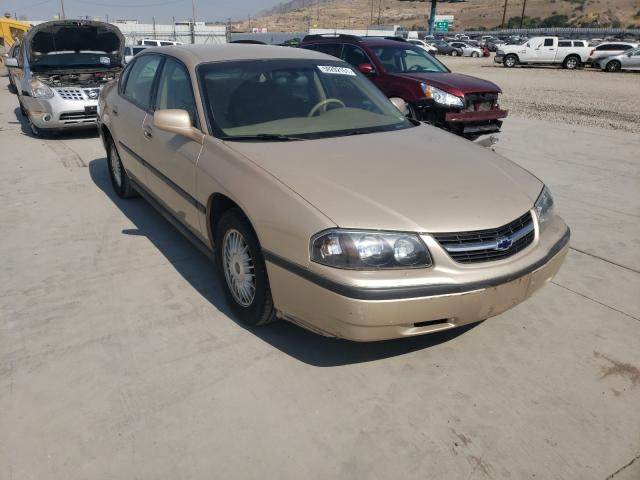 Chevrolet Impala salvage cars for sale: 2000 Chevrolet Impala