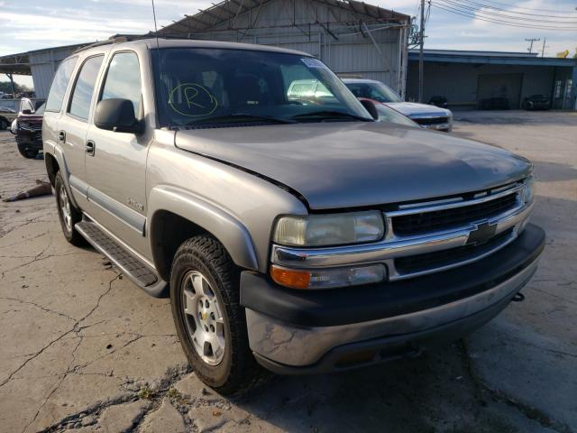 Salvage cars for sale from Copart Corpus Christi, TX: 2002 Chevrolet Tahoe C150