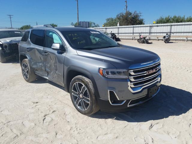 Salvage cars for sale from Copart Abilene, TX: 2021 GMC Acadia SLT