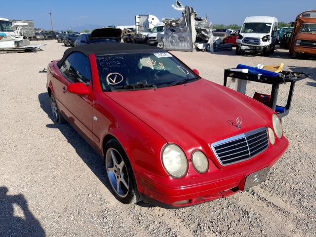 Salvage cars for sale at Tucson, AZ auction: 1999 Mercedes-Benz CLK 320