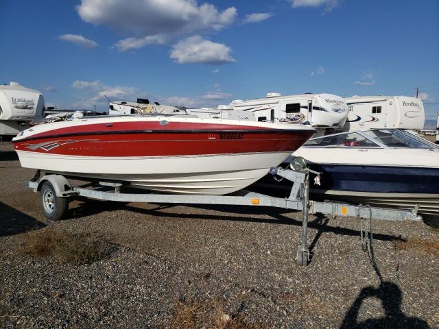 Salvage boats for sale at Helena, MT auction: 2008 Bayliner Boat
