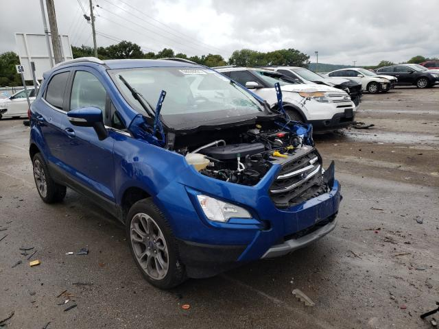 Ford Ecosport T salvage cars for sale: 2021 Ford Ecosport T