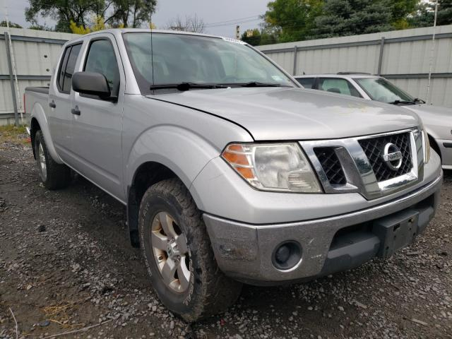 Salvage cars for sale from Copart Albany, NY: 2010 Nissan Frontier C