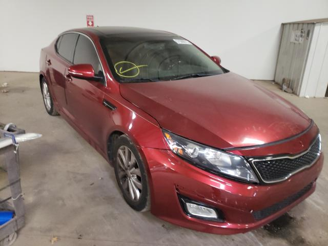 Salvage cars for sale from Copart Chalfont, PA: 2014 KIA Optima EX