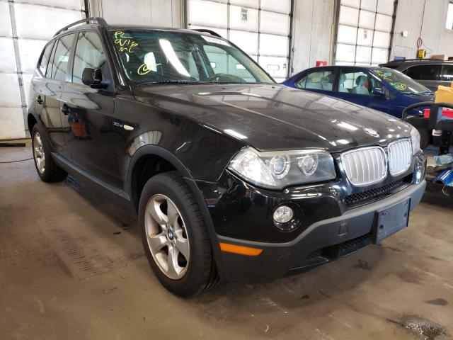 Salvage cars for sale from Copart Blaine, MN: 2007 BMW X3 3.0SI