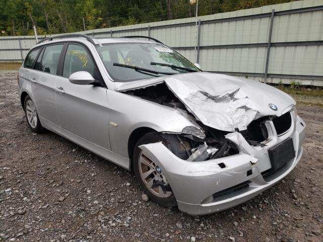 Salvage cars for sale from Copart Leroy, NY: 2006 BMW 325 XIT